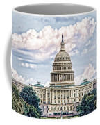 Us Capitol Building Coffee Mug