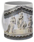 Us Capitol Building Facade Coffee Mug