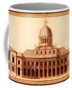 U.s. Capitol Design 1791 Coffee Mug