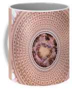 U S Capitol Dome Mural # 2 Coffee Mug