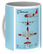 Coast Guard Hc-130 B Hercules Coffee Mug