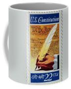 Us Constitution Stamp Coffee Mug