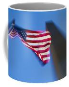 Us Flag At Washington Monument At Dusk Coffee Mug