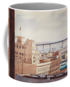 Us Grant Hotel In San Diego Coffee Mug by Mary Helmreich
