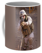 Us Marine At Work Coffee Mug