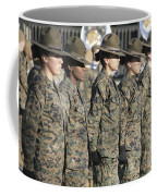 U.s. Marine Corps Female Drill Coffee Mug