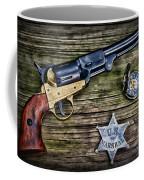 Us Marshall - American Justice - Cowboy Coffee Mug
