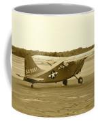 U.s. Military Recon Single Engine Plane Coffee Mug