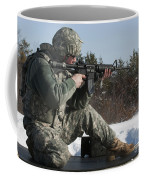 U.s. Soldier Fires His M4a3 Carbine Coffee Mug