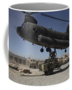 U.s. Soldiers Attach Sling Load Ropes Coffee Mug