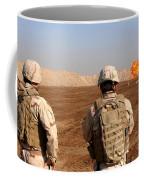 U.s. Soldiers Detonate A Test Explosion Coffee Mug