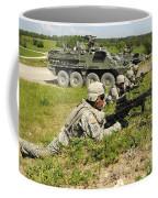 U.s. Soldiers Move Into Firing Coffee Mug