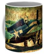 Us Ww II Grumman F4f Wildcat Fighter Plane Coffee Mug