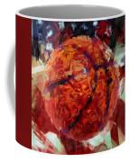 Usa Flag And Basketball Abstract Coffee Mug