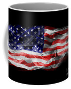 Usa Flag Smoke  Coffee Mug