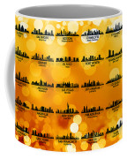 Usa Skylines 3 Coffee Mug