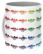 Usa Skylines Coffee Mug