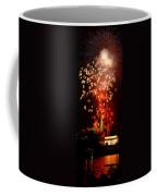 Usa, Washington Dc, Fireworks Coffee Mug