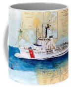 Uscg Alert Coast Guard Chart Map Art Peek Coffee Mug