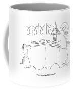 User Name And Password? Coffee Mug by Arnie Levin