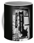 Usps Enter Here Coffee Mug