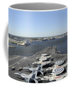 Uss Enterprise Arrives At Naval Station Coffee Mug