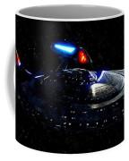 Uss Enterprise Coffee Mug by Florian Rodarte