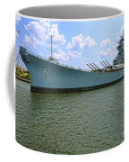 Uss New Jersey Coffee Mug