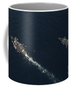 Uss Stockdale And The Canadian Frigate Coffee Mug