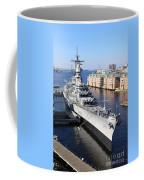 U S S Wisconsin B B 64 Coffee Mug