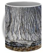 Utah Copper Mine Tailings Pile In Winter Coffee Mug