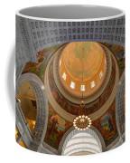 Utah State Capitol Rotunda Interior Archways Coffee Mug by Gary Whitton