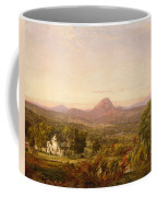 Autumn Landscape Sugar Loaf Mountain. Orange County  New York Coffee Mug