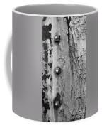 V Na 3 Bolts Tex Bw Coffee Mug