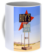 Vacancy Route 66 Coffee Mug