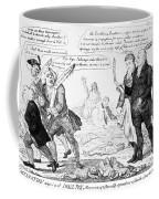 Vaccination Cartoon, 1808 Coffee Mug