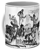 Vaccination Cartoon, C1800 Coffee Mug