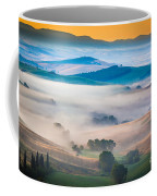 Val D'orcia Enchantment Coffee Mug by Inge Johnsson