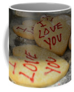 Valentine Wishes And Cookies Coffee Mug