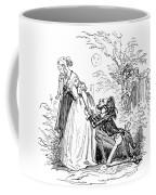 Valentines Day, 1855 Coffee Mug