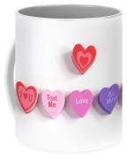 Valentine's Day Hearts Coffee Mug