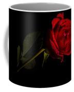 Valentine's Day Velvet Rose Coffee Mug
