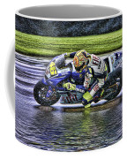 Valentino Rossi At Indy Coffee Mug