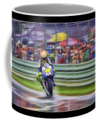 Valentino Rossi Fans Line The Fence Coffee Mug