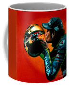 Valentino Rossi Portrait Coffee Mug