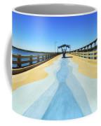 Valero Beach Fishing Pier Coffee Mug