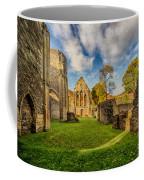 Valle Crucis Abbey Ruins Coffee Mug by Adrian Evans