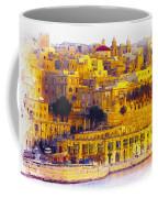 Valletta Capital Of Malta Coffee Mug