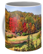 Valley Farm In The Fall Coffee Mug
