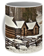 Valley Forge Cabins In Snow 2 Coffee Mug